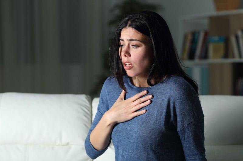 reflux gastrique et étouffement la nuit
