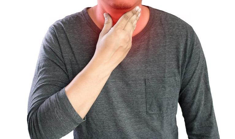 symptomes hernie hiatale toux gorge