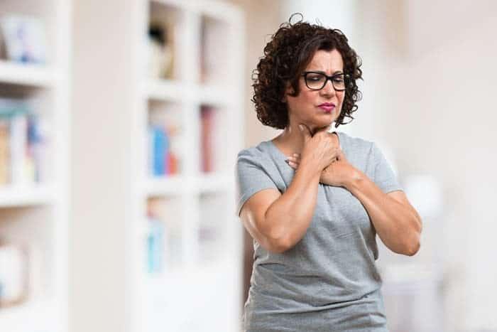 Reflux gastrique avec glaires témoignage Véronique